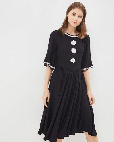 Черное платье весеннее Madam T
