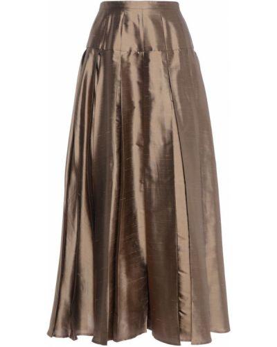 Юбка миди - коричневая 's Max Mara
