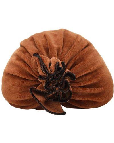 Brązowy bawełna bawełna kapelusz Infantium Victoria