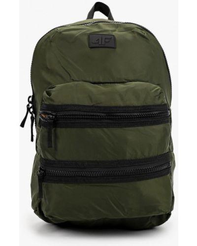 Текстильный зеленый рюкзак 4f