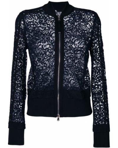 Куртка черная синий Diesel Black Gold