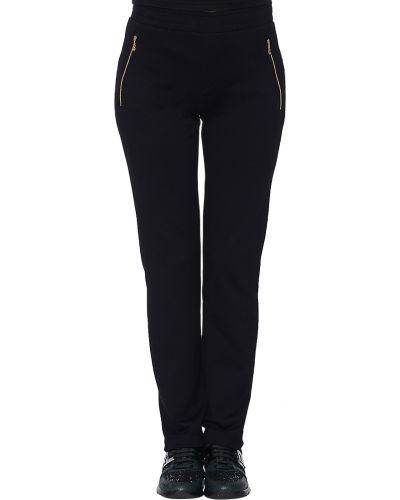 Спортивные брюки из вискозы черные Bogner