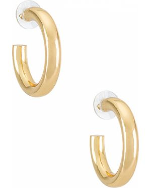 Złote kolczyki sztyfty pozłacane Baublebar