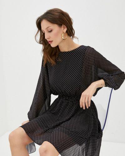Прямое черное платье А-силуэта Haily's