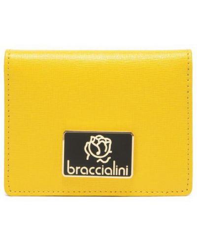 Визитница желтый Braccialini