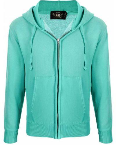 Bluza z kapturem - zielona Ralph Lauren Rrl