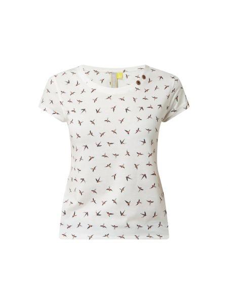 T-shirt bawełniana - biała Alife And Kickin