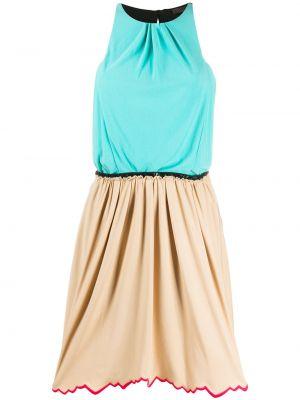 Sukienka mini z guzikami z jedwabiu Louis Vuitton Pre-owned