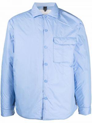 Niebieska koszula z długimi rękawami Soulland