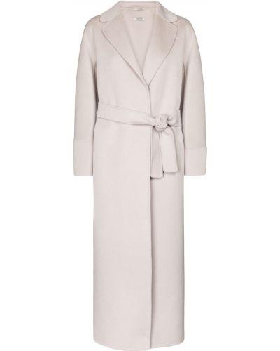 Белое шерстяное пальто 's Max Mara