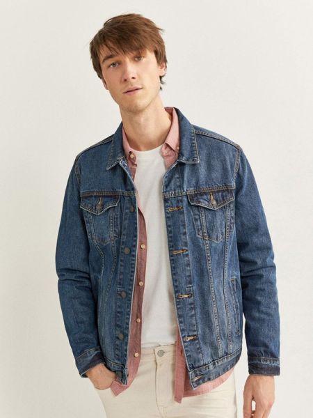 Джинсовая куртка синяя Springfield
