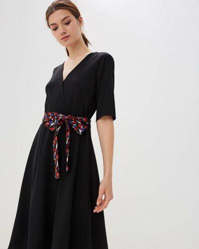 Платье с запахом осеннее Imperial