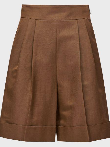 Хлопковые шорты - коричневые Luisa Spagnoli