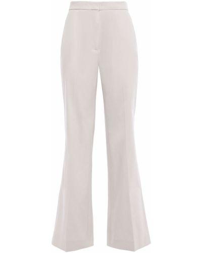 Szare spodnie bawełniane rozkloszowane Alexachung
