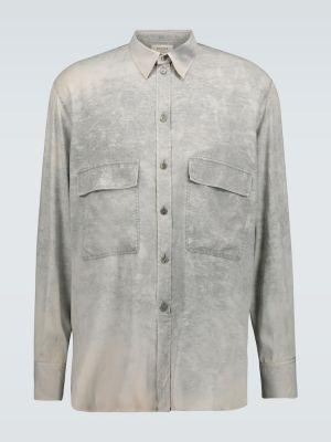 Koszula jedwab prosto Rochas