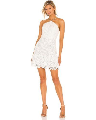 Biała sukienka mini bawełniana Milly