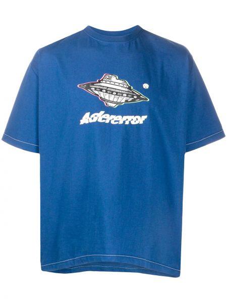 Koszula krótkie z krótkim rękawem z nadrukiem przeoczenie Ader Error