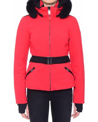 Куртка осенняя красная Goldbergh