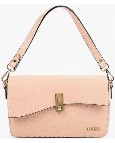 Кожаная сумка - розовая Bosccolo