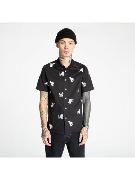 Черная рубашка для танцев Ripndip