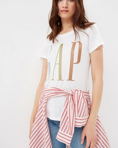 Белая футболка 2019 Gap