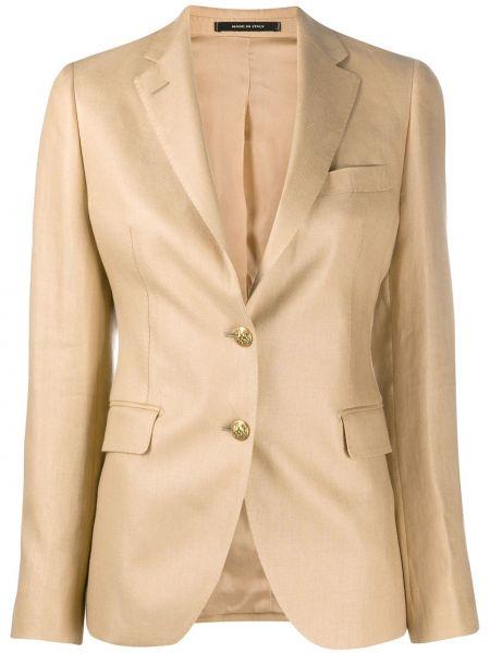Пиджак льняной прямой Tagliatore