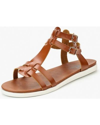 Коричневые сандалии Isteria