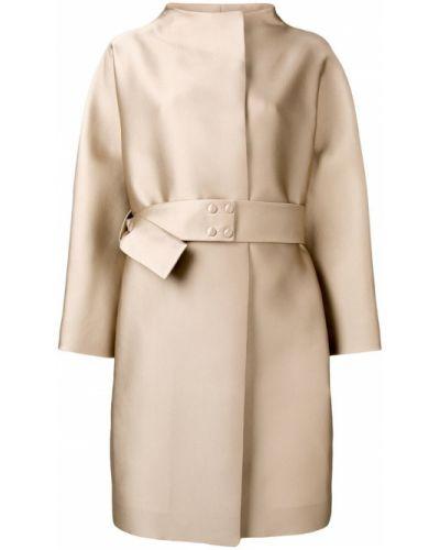 Длинное пальто с капюшоном Paule Ka