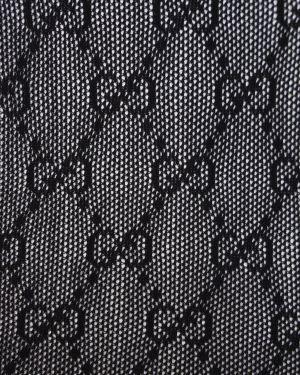 Czarne pończochy Gucci
