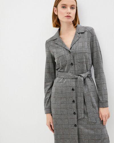 Платье рубашка - серое Iblues