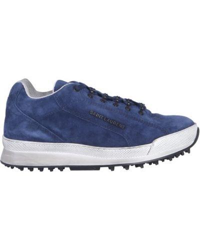Sneakersy skorzane Saint Laurent