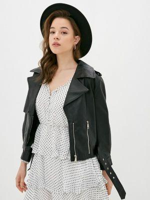 Черная кожаная куртка You&you