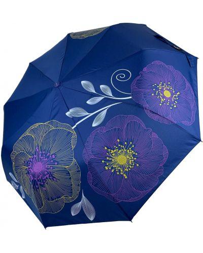 Складной зонт - синий Flagman