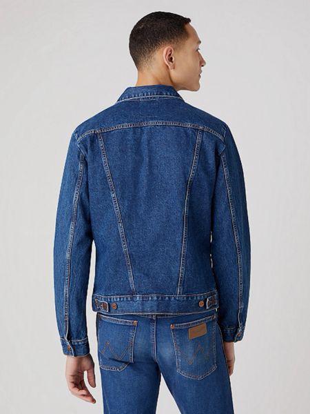Джинсовая куртка - голубая Wrangler