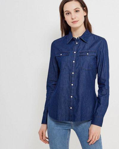 Синяя джинсовая рубашка G-star