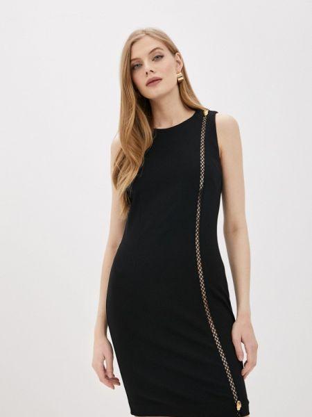 Черное повседневное платье Cavalli Class