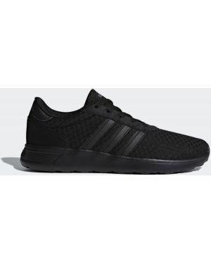 Черные кроссовки со вставками Adidas