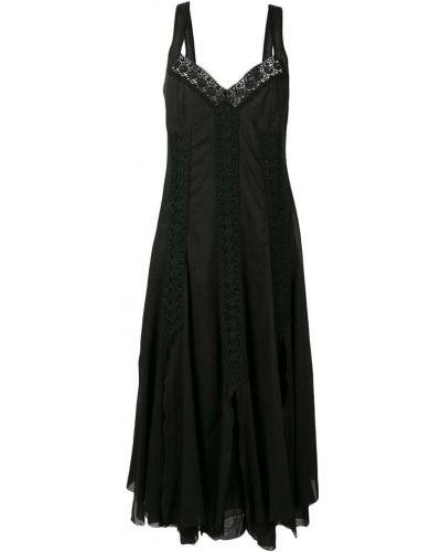 Приталенное расклешенное платье Charo Ruiz