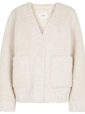 Белая куртка из искусственного меха Dorothee Schumacher