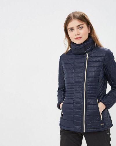 Утепленная куртка весенняя синий Luhta