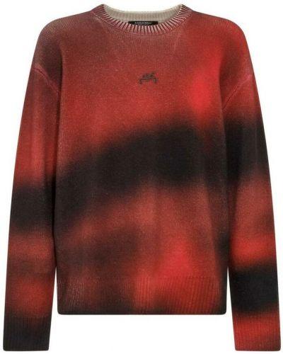 Czerwony sweter A-cold-wall*