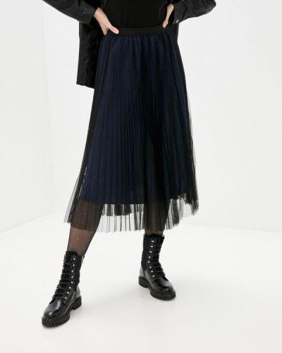 Синяя плиссированная юбка Softy