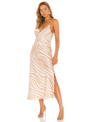 Сатиновое платье Misa Los Angeles
