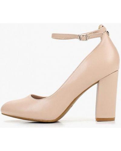 Туфли на каблуке кожаные с застежкой на лодыжке T.taccardi