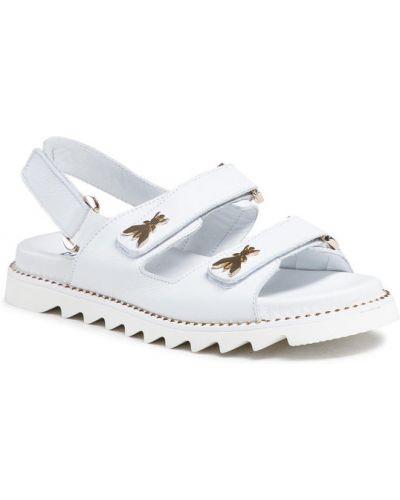 Białe sandały Patrizia Pepe