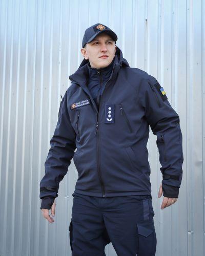 Куртка милитари - синяя Fct Design