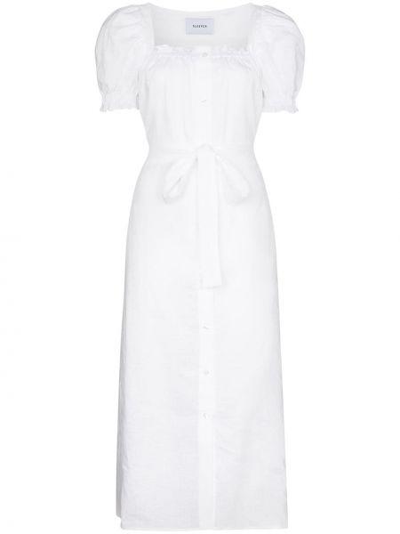 Biała sukienka mini Sleeper