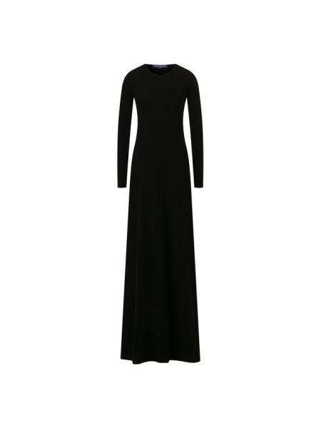 Вечернее платье шерстяное кашемировое Ralph Lauren