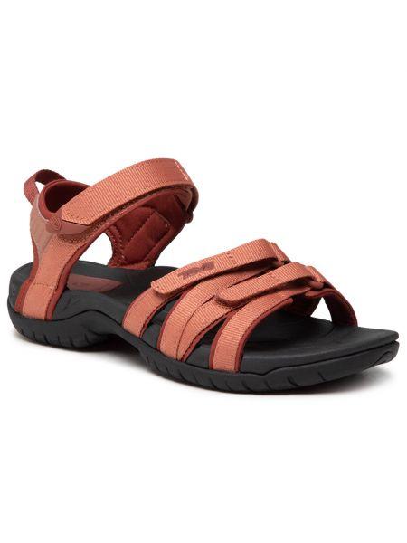 Czerwone sandały casual Teva