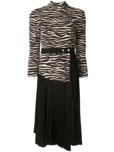 Платье на молнии с длинными рукавами Alc